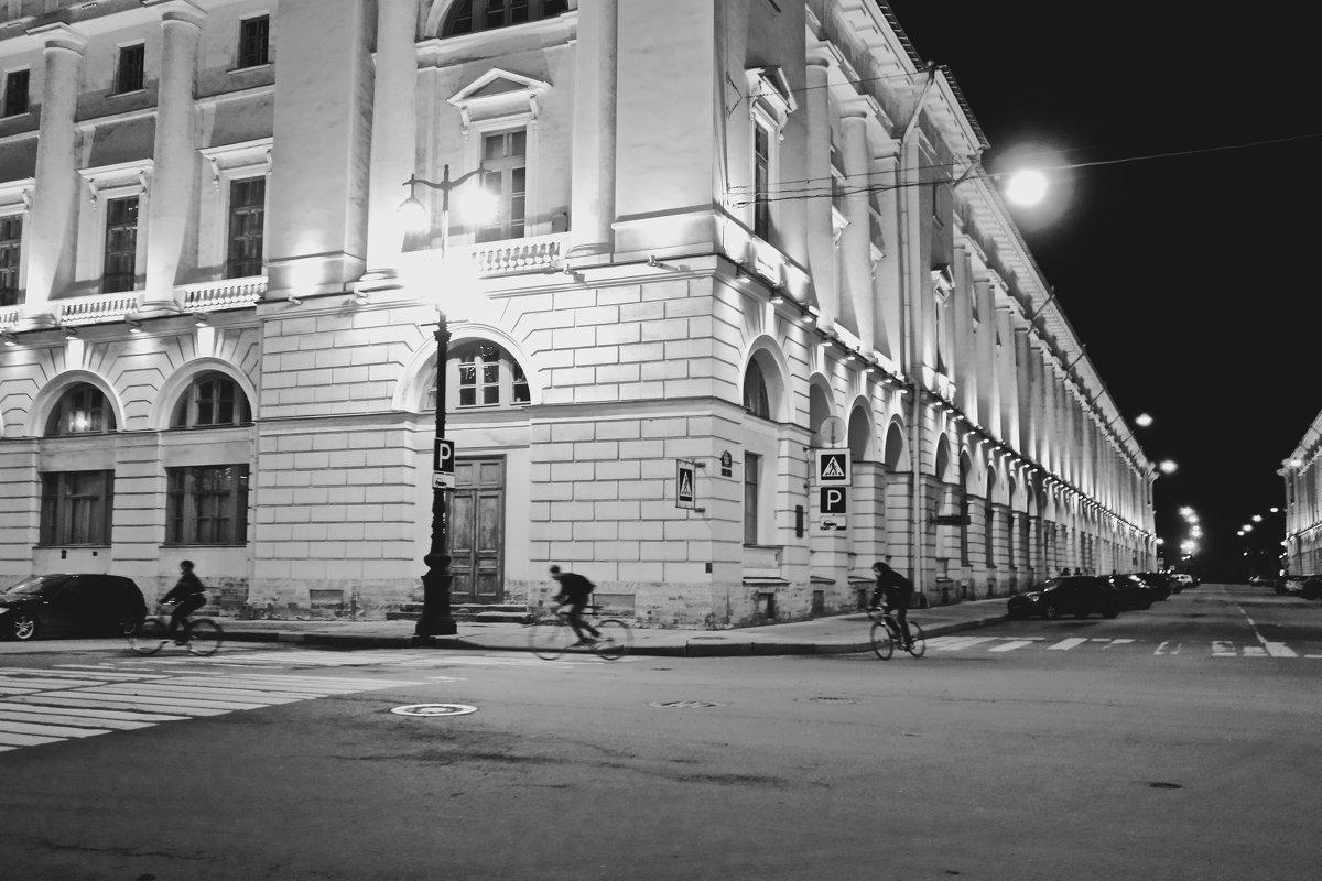 ночные велосипедисты - Елена