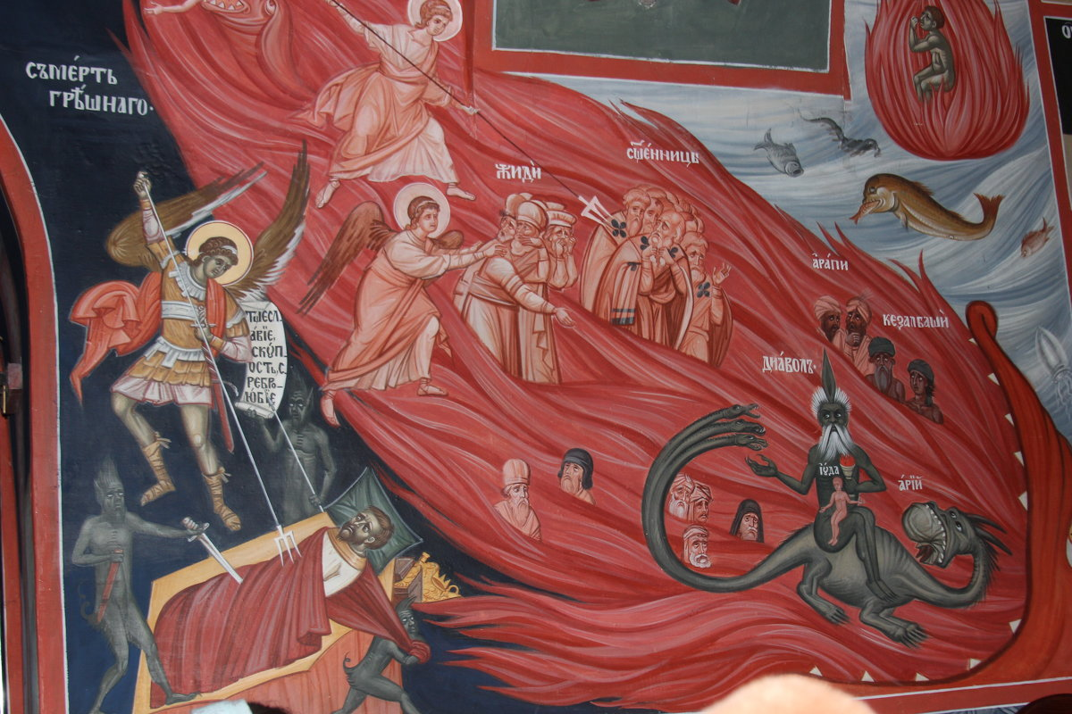 фрески Николо-Малицкого монастыря (Тверь) - Дмитрий Солоненко