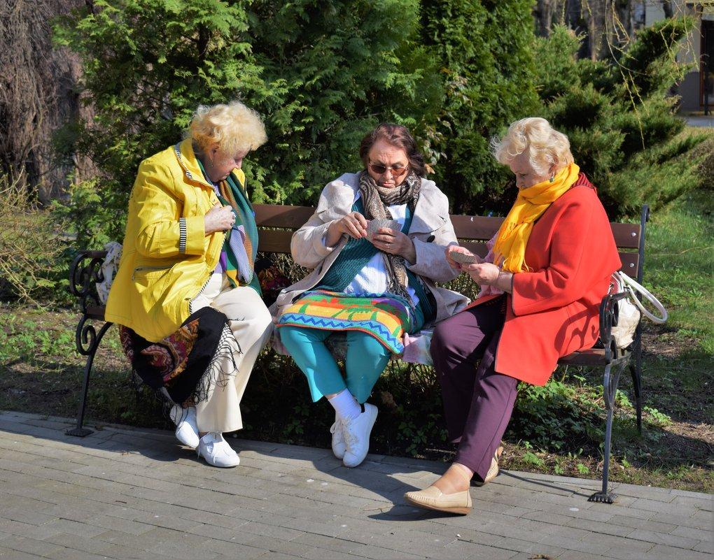 Бабушки на отдыхе - Марина