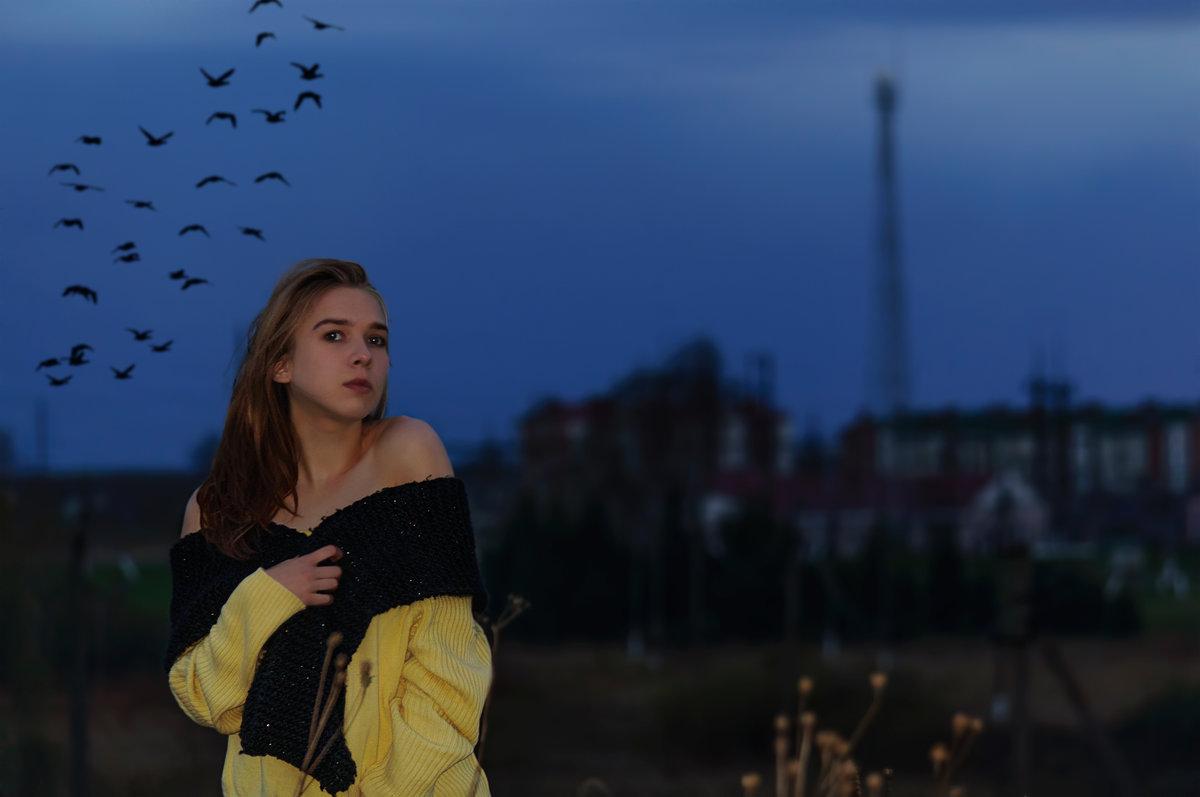 Вечерний портрет - Анатолий Клепешнёв
