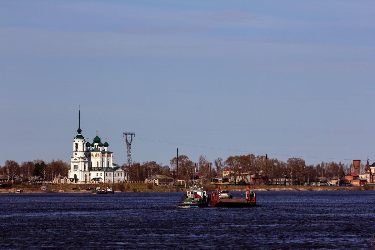 Переправа через реку Вычегда. - Андрей Дурапов