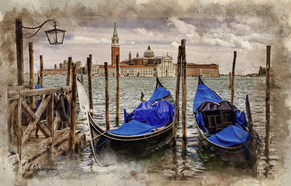 Венеция - Виктор К Доние