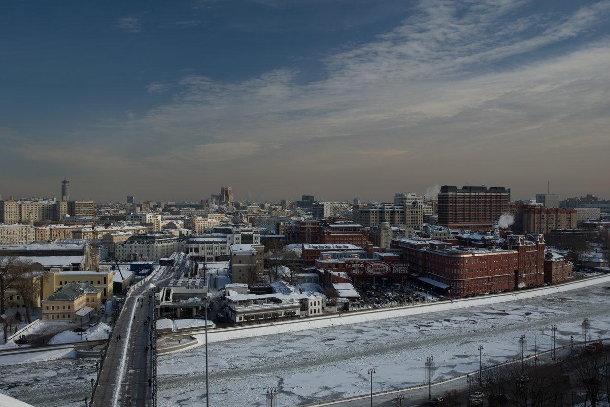 Москва. Вид со смотровой площядки Храма Христа Спасителя.4. - Андрей Ванин