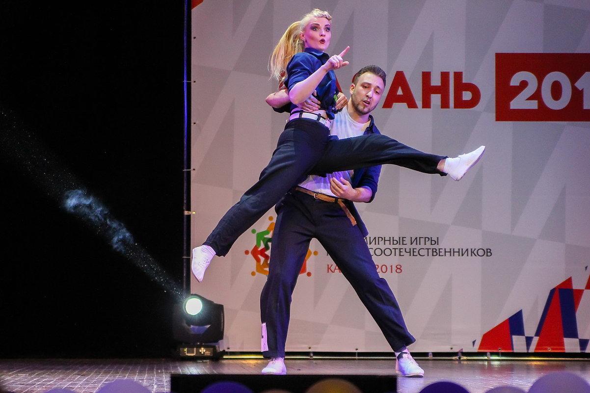 Соревнования по буги-вуги - Павел Железняк