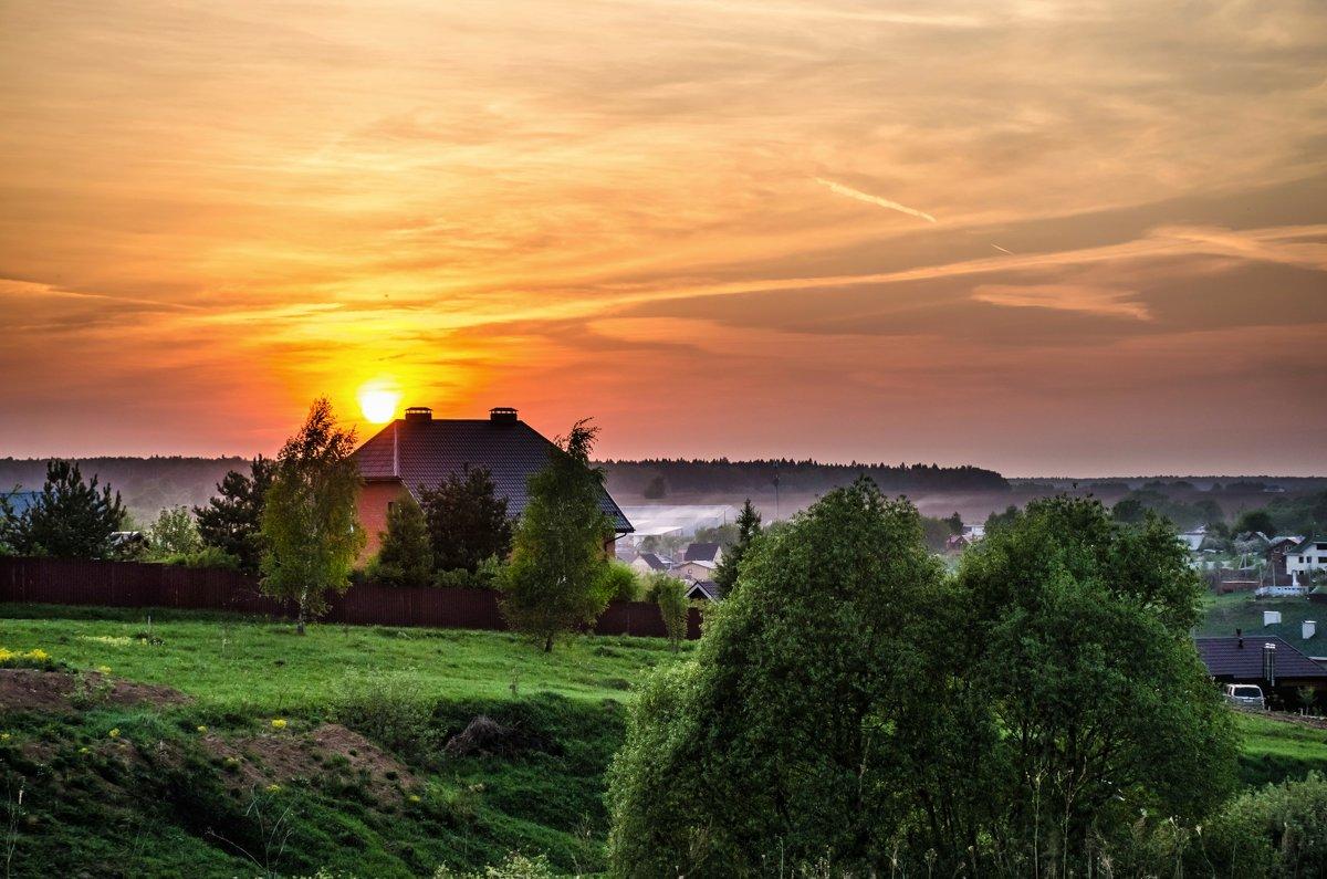 На краю деревни ... - Va-Dim ...