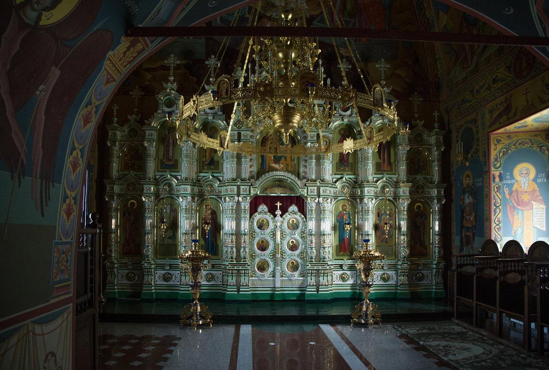 Фарфоровый иконостас - Александра