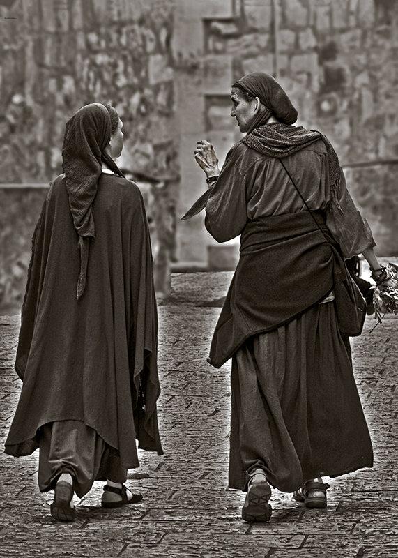 Иерусалим и его жители-разговор. - Shmual Hava Retro