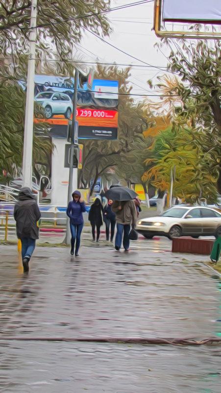 В нашем городе дождь... - Владимир