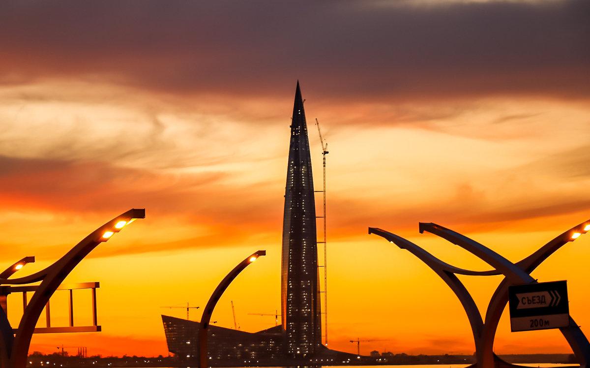 Лахта-центр - Юрий Слепчук
