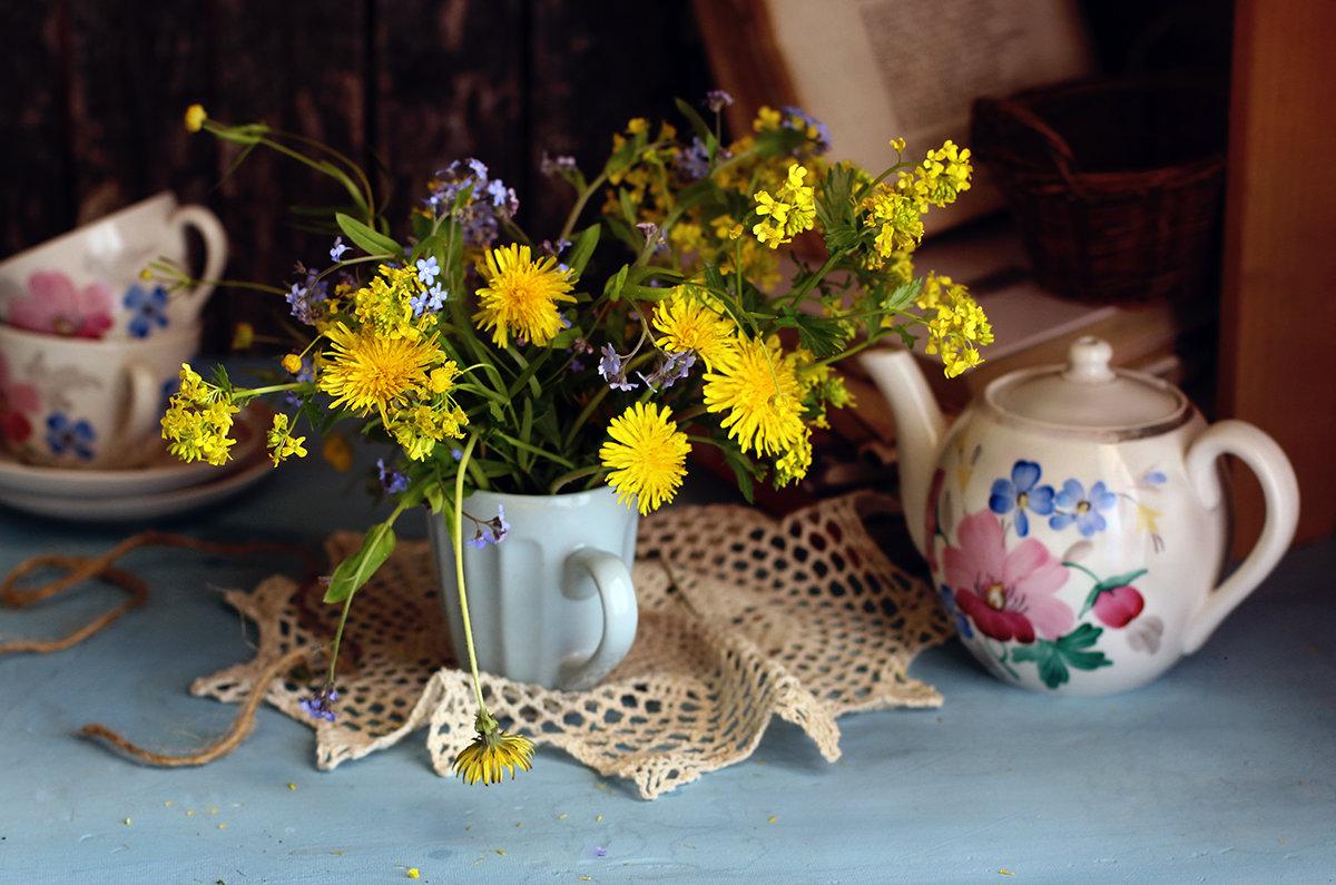 Желтых цветов букет.... - Liliya