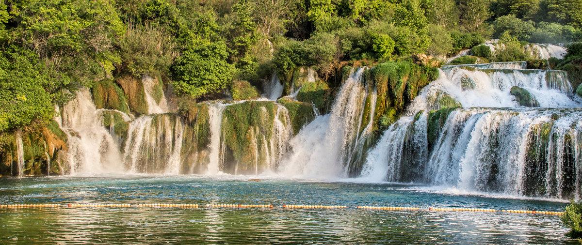 Водопад из серии Nationalpark Krka Croatia - Konstantin Rohn