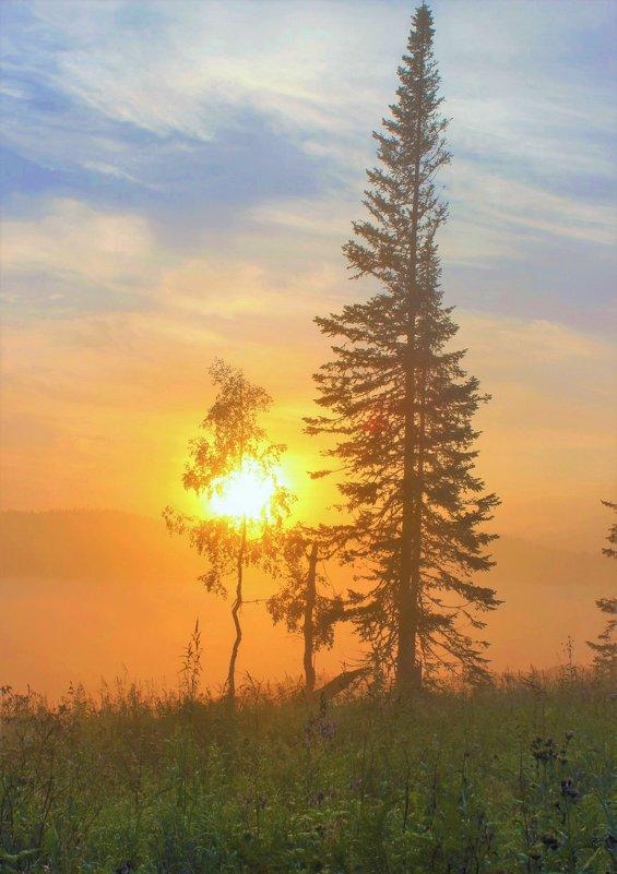 На восходе солнца - Сергей Чиняев