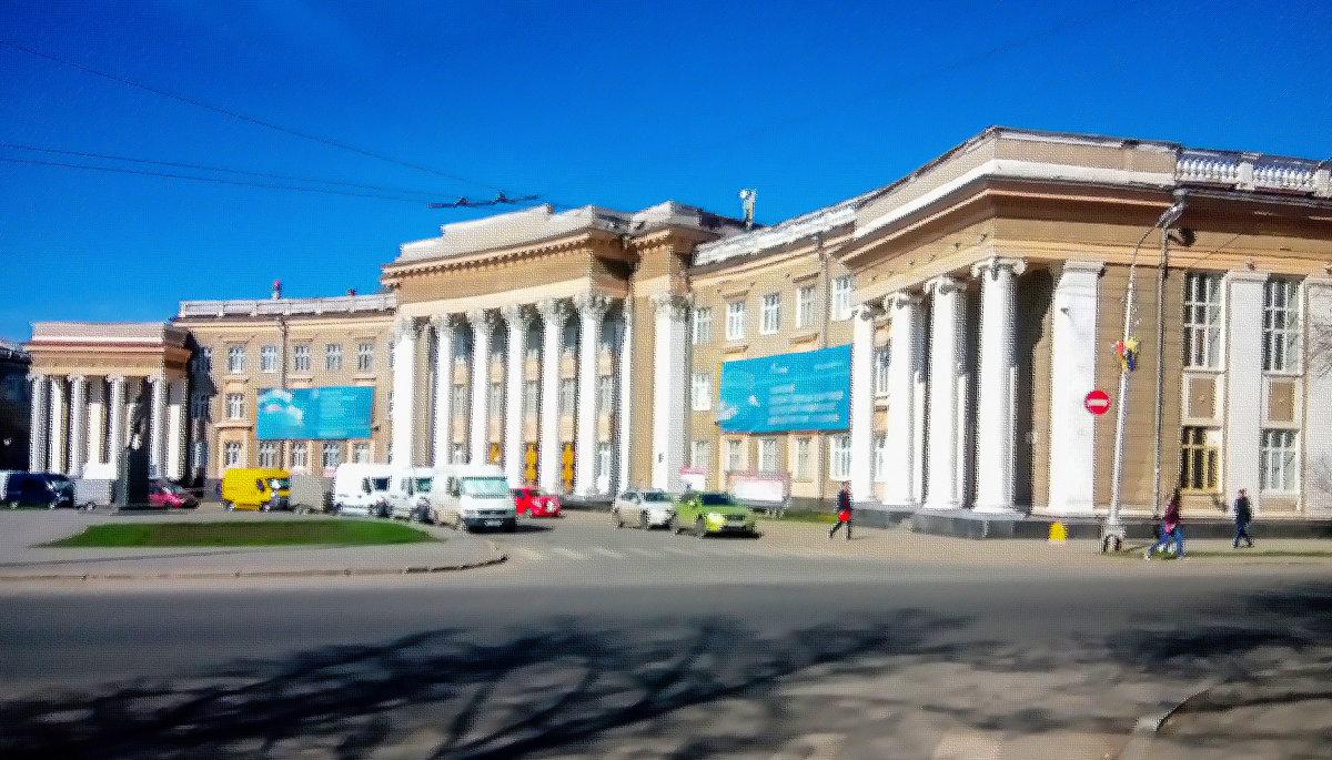 дворец Орджоникидзе Уфа - Георгий Морозов