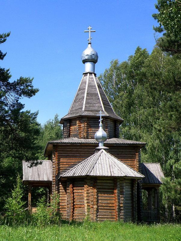 Храм на берегу оз. Светлояр - Vlad Сергиевич