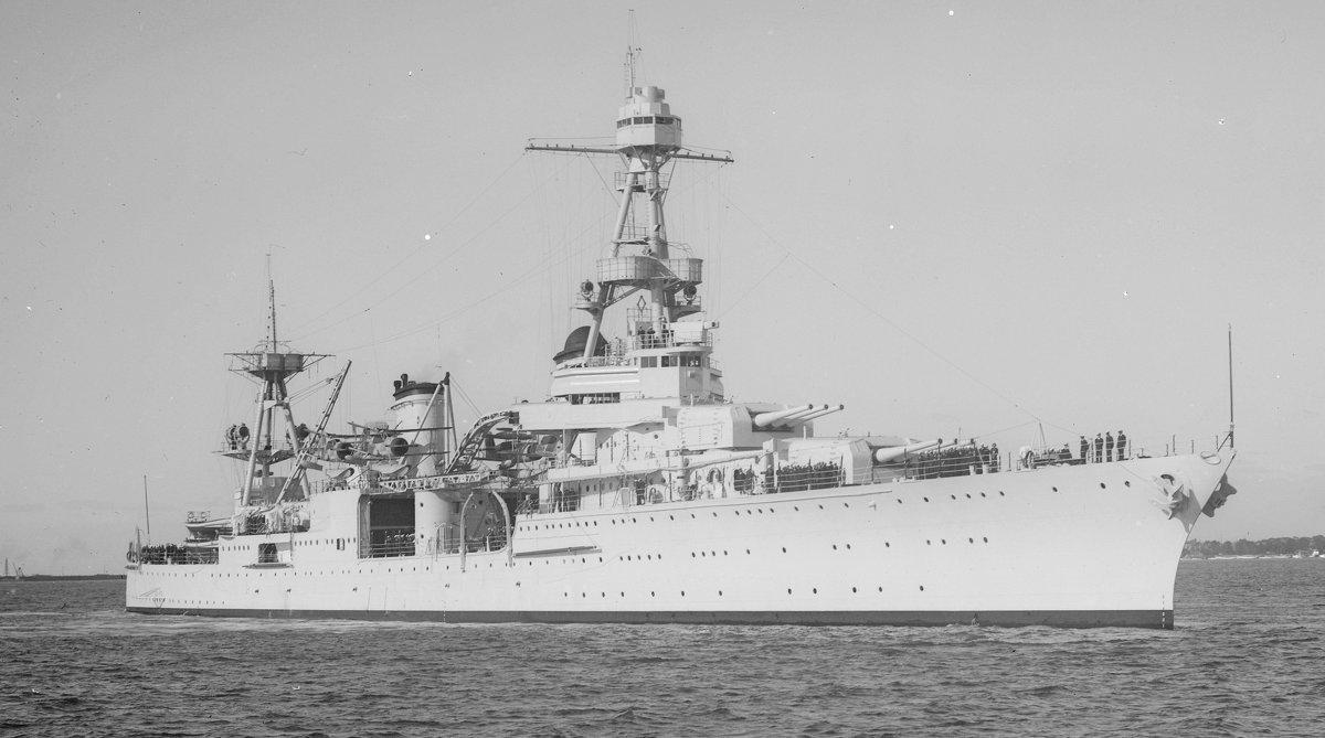 "USS ""Augusta"" (CA -31). - Александр"