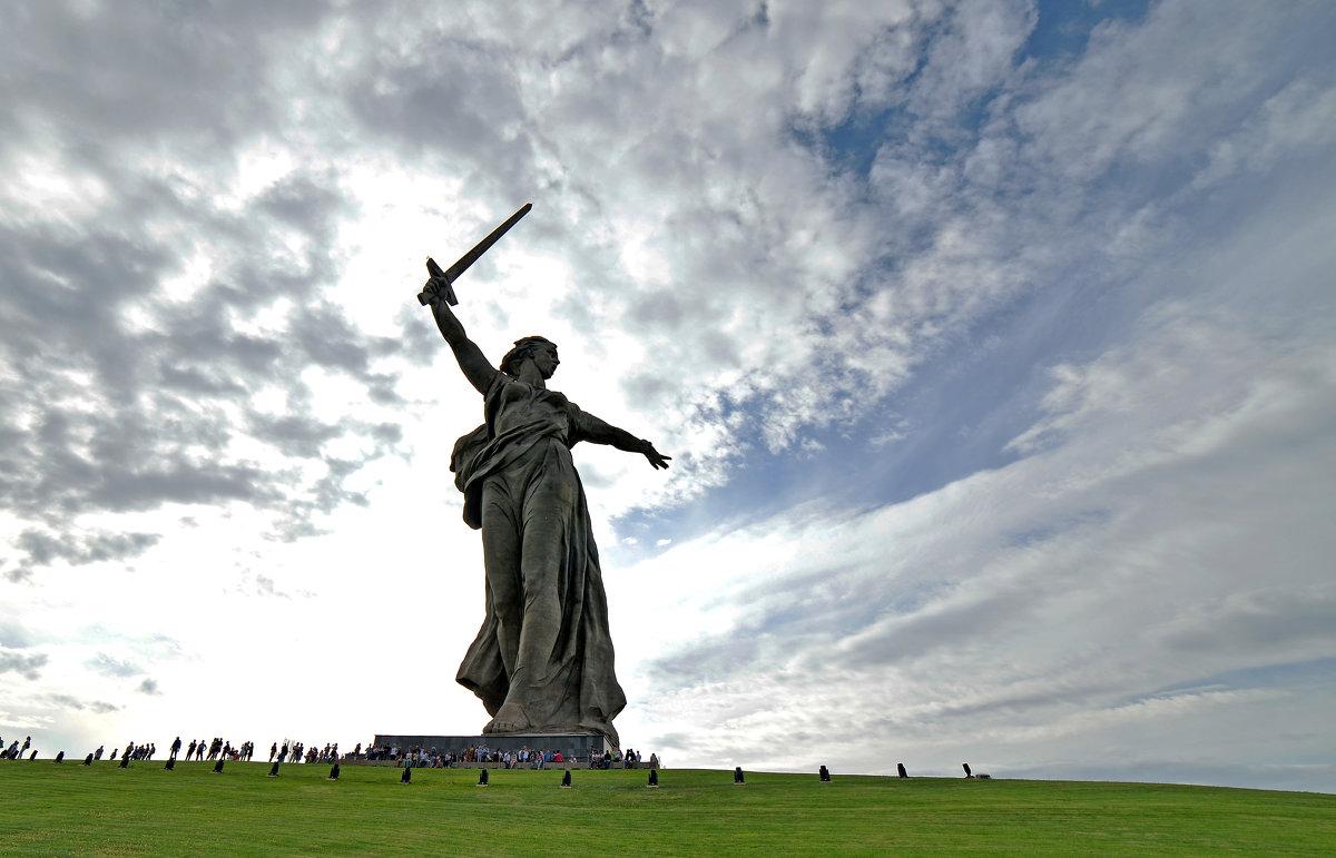 Волгоград.9 мая 2018г. МАМАЕВ КУРГАН. - Тамара Бучарская