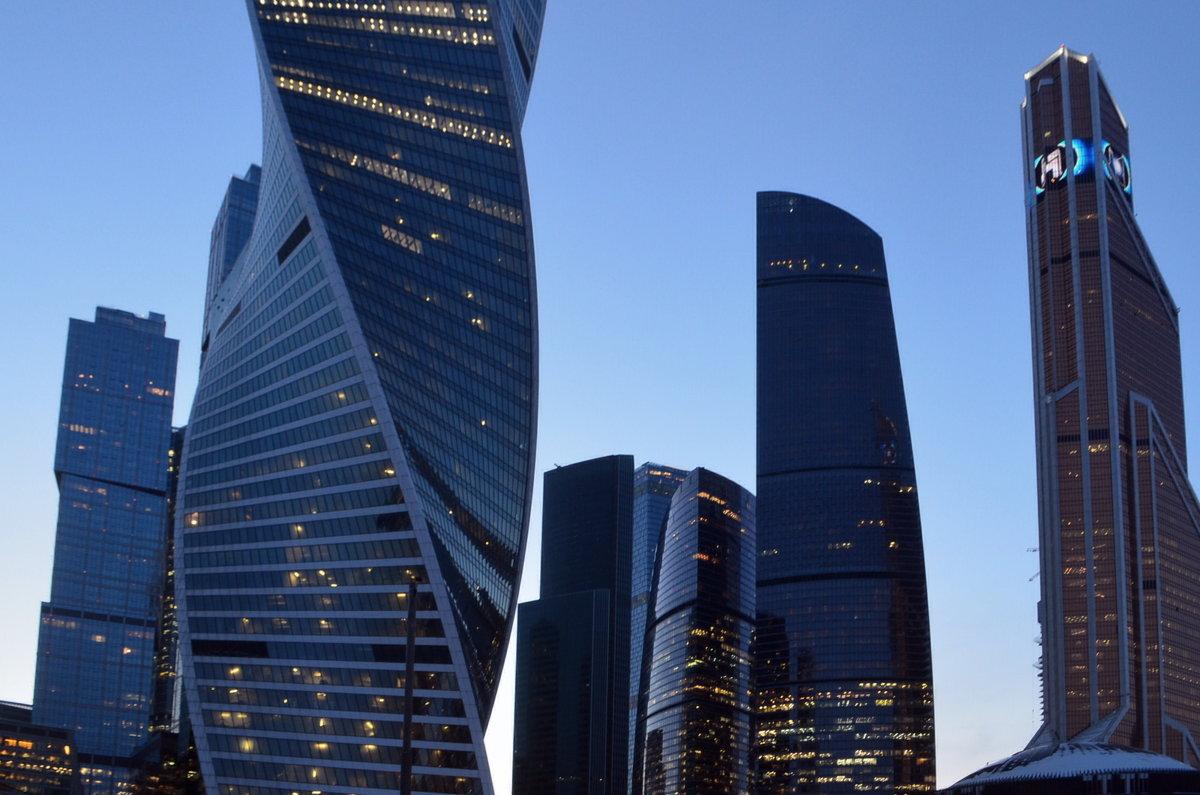 вечерние небоскрёбы - Галина R...