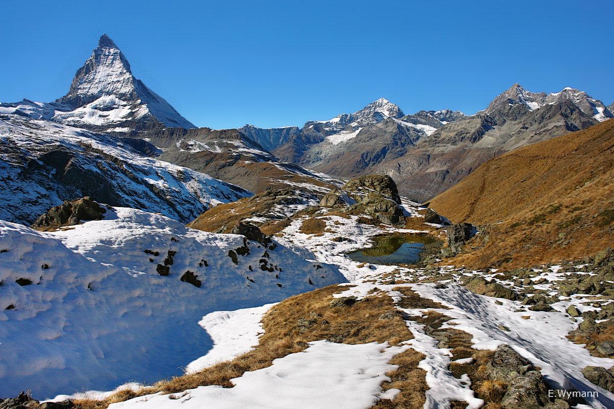 Альпийский пейзаж - Elena Wymann