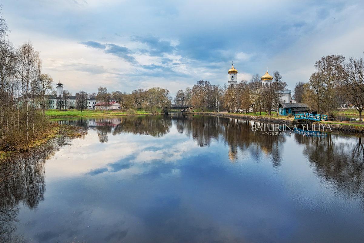 Собор на реке Цна - Юлия Батурина