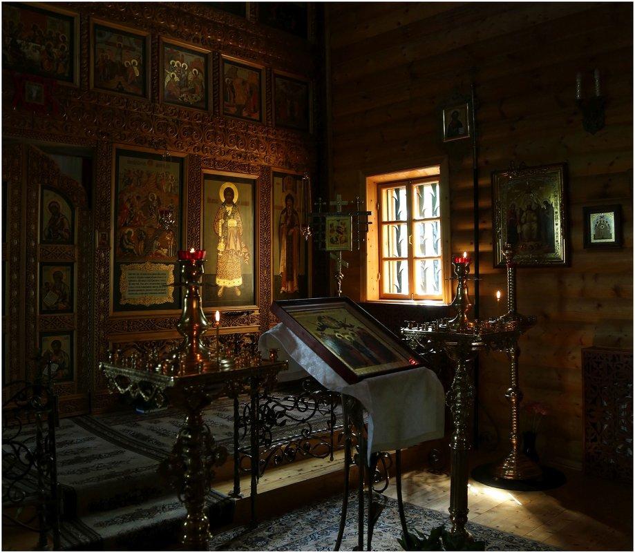 Интерьер церкви, Мелихово - ZNatasha -
