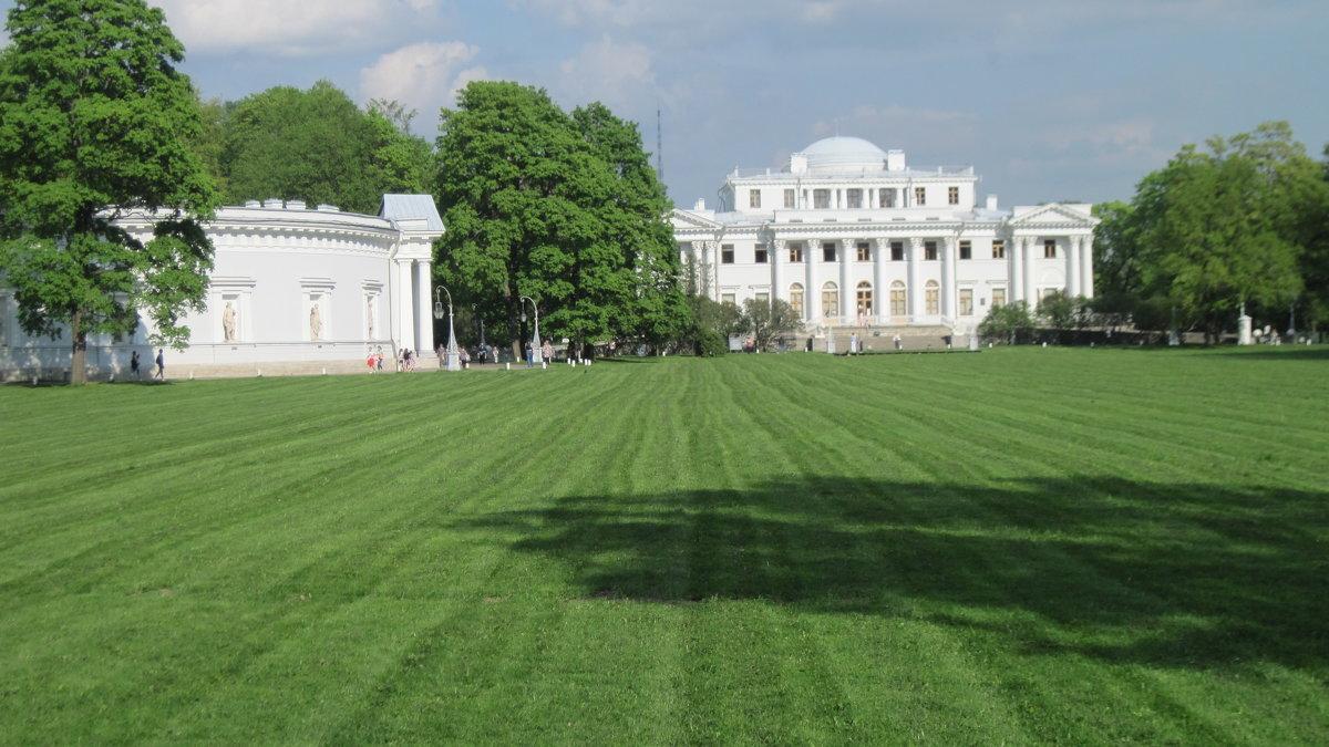 Елагин дворец. 1822 год - Маера Урусова