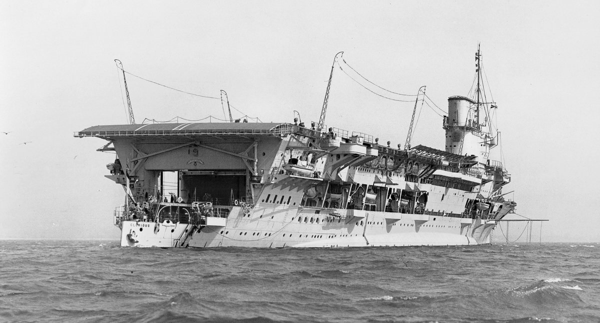 "английский авианосец ""HMS Glorious"". - Александр"