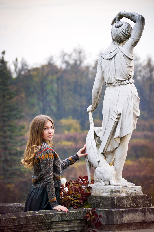 В парке - Надежда Журавкова