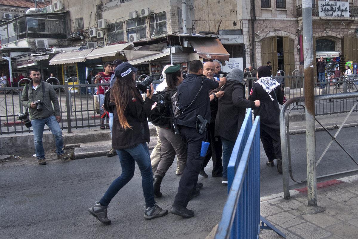Беспорядки в Восточном Иерусалиме - Shmual Hava Retro
