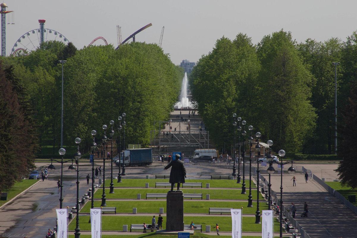 Приморский парк победы - Иван