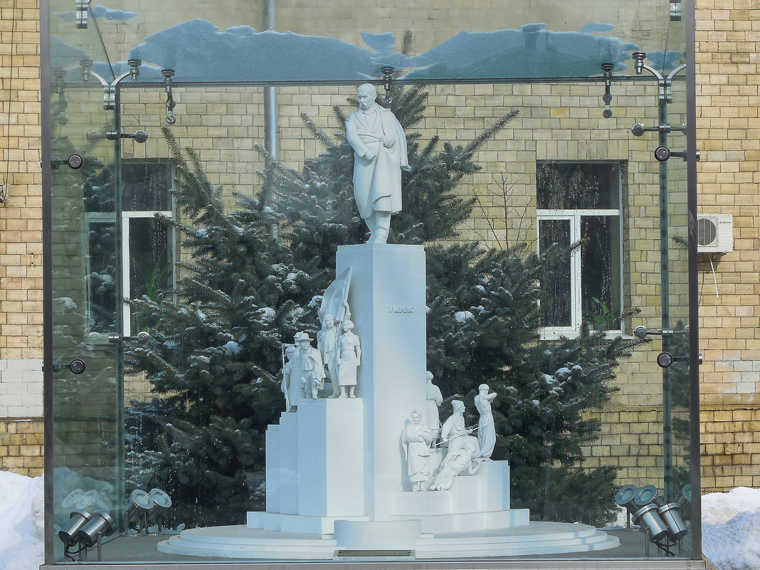 макет памятника Тарасу Григорьевичу Шевченко - Александр Борисович