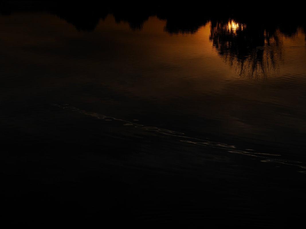 У речки.. Ночной пейзаж. - Alexey YakovLev