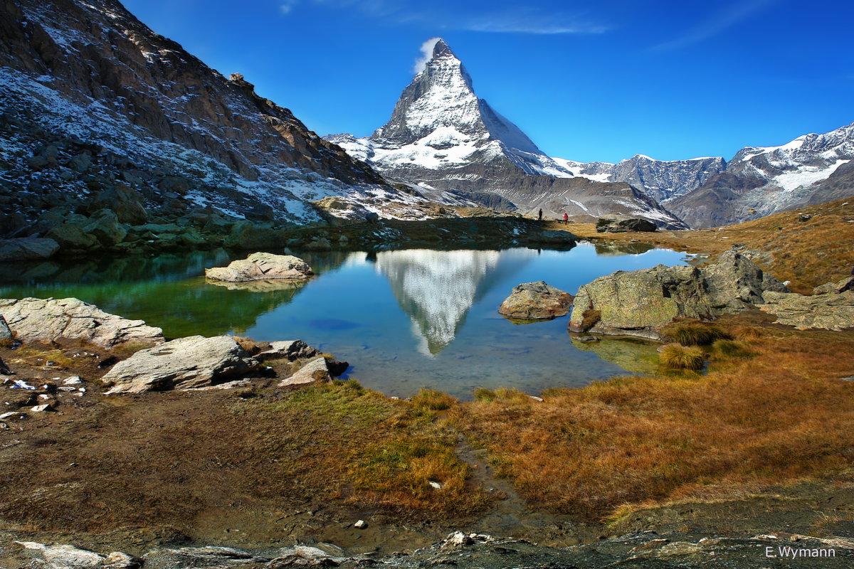 пейзажи озера в горах - Elena Wymann