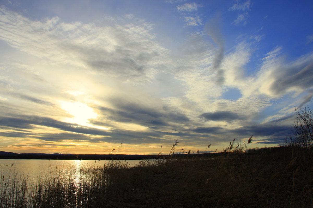 Расплескался закат в синеве... - Нэля Лысенко