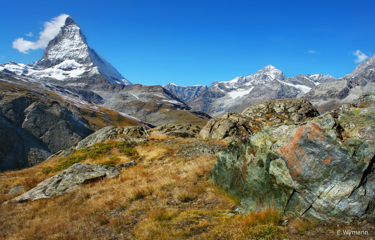 Горы,Альпы - Elena Wymann