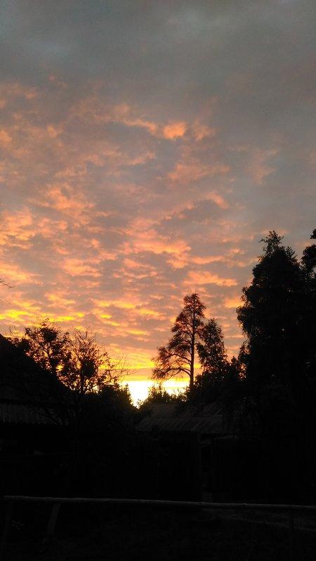 Закат над городом - Оксана Романова