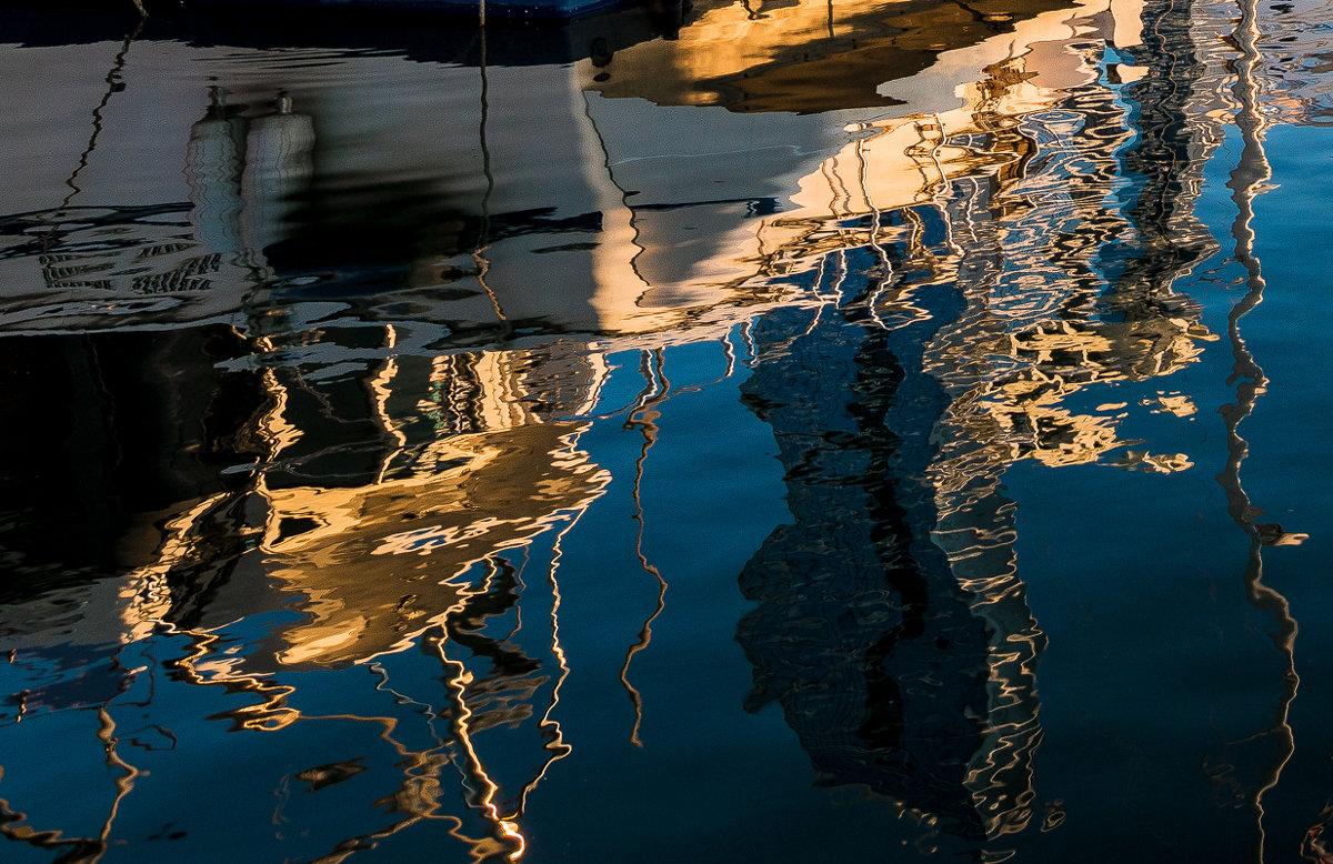 закат в яхт клубе - Олег Семенов
