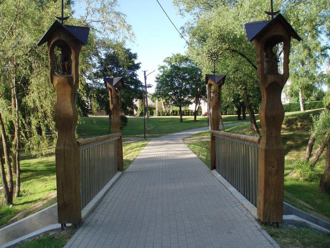 Kretingos tiltai / Bridge in Kretinga - silvestras gaiziunas gaiziunas