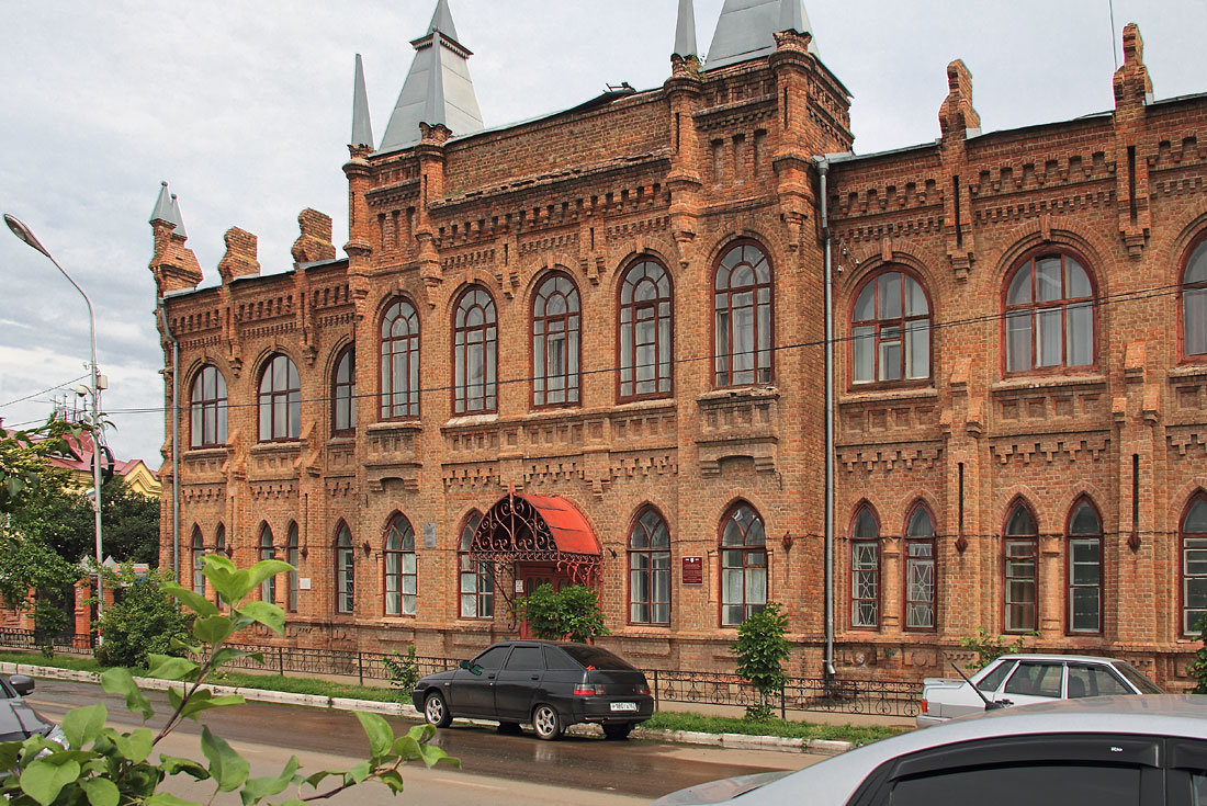 Педагогическое училище. Бузулук. Оренбургская область - MILAV V