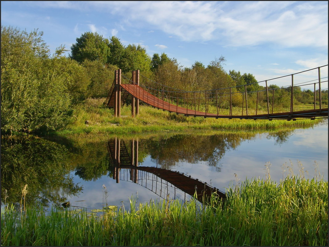 Мост через реку - lady v.ekaterina