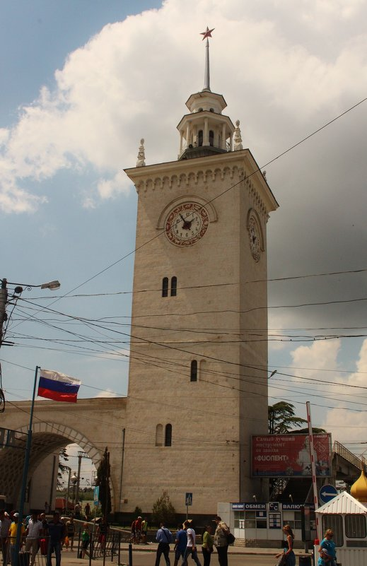 башня с часами. - sav-al-v Савченко