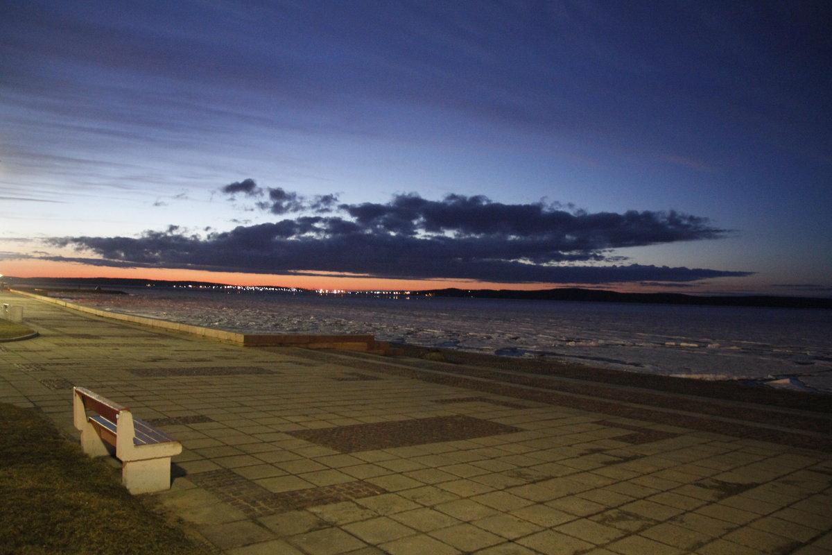 Вечер над Онежским озером - esadesign Егерев