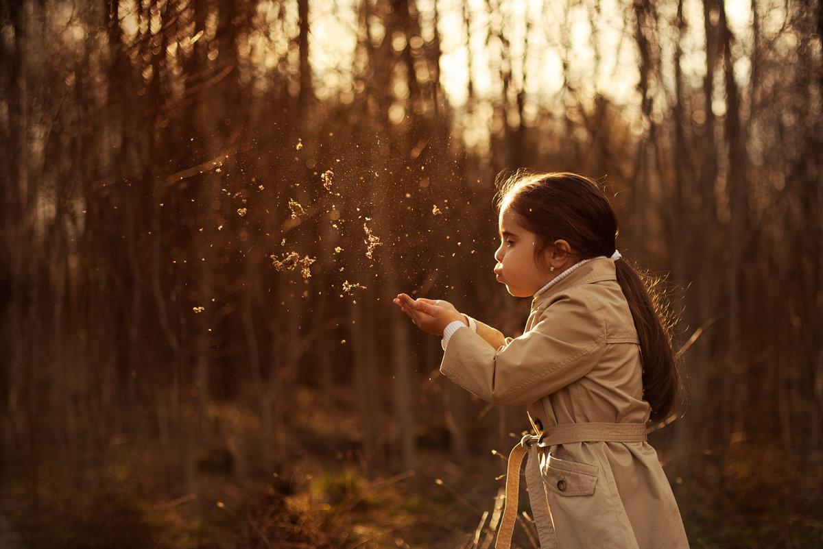 прогулка в лесу - Anna Filipanova
