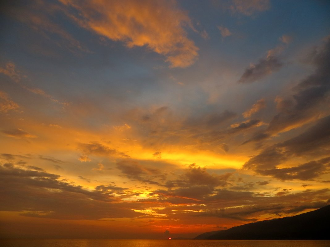 Закат в Гагре - Мазутка