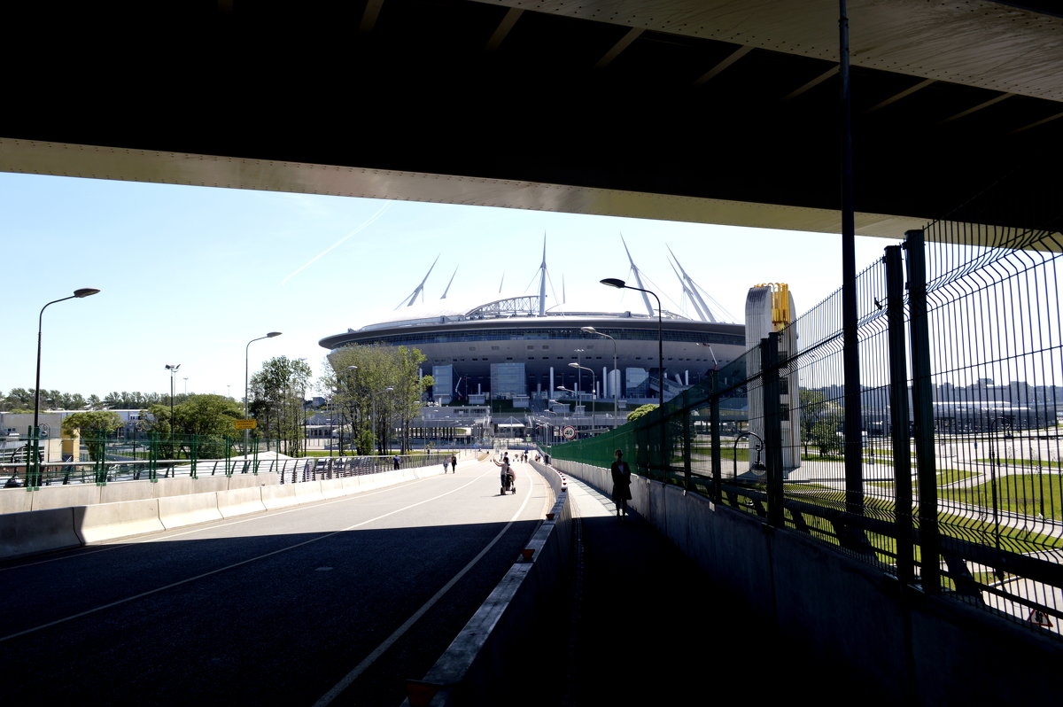 Стадион  2 - Сергей