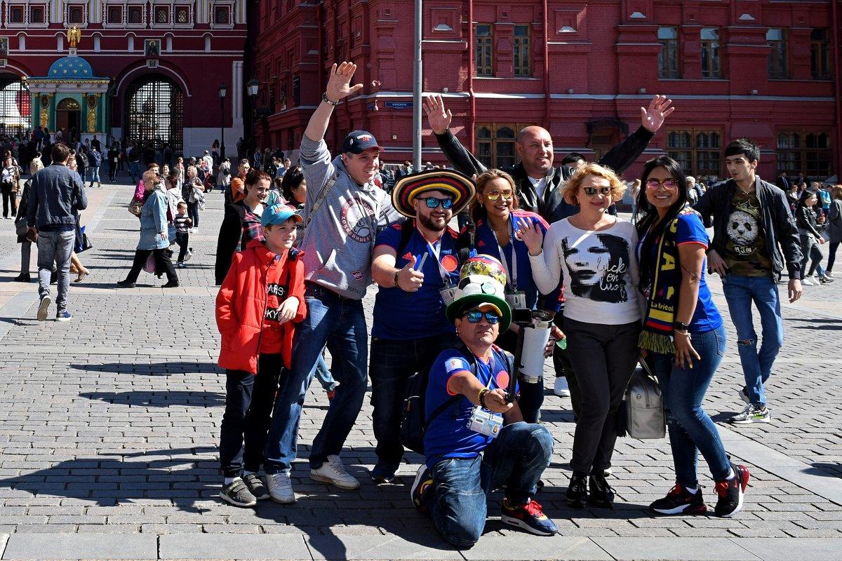 Фото на память с гостями из Колумбии! - Татьяна Помогалова