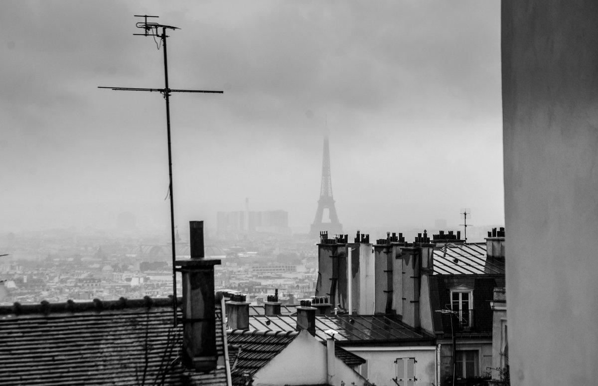 Дождливый Париж - Наталия