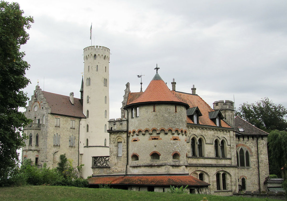 Замок Лихтенштейн, Германия - Tamara *