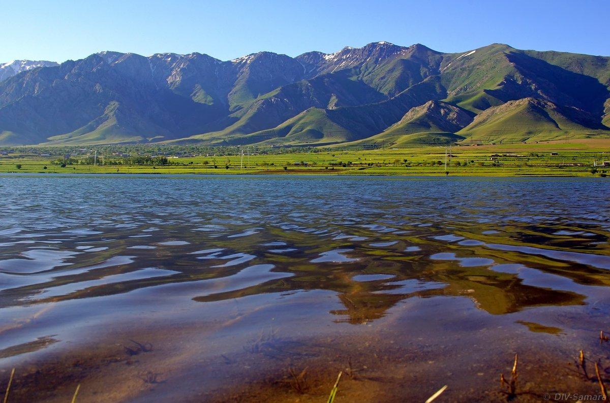 Каратепинское водохранилище недалеко от Самарканда - Денис Кораблёв