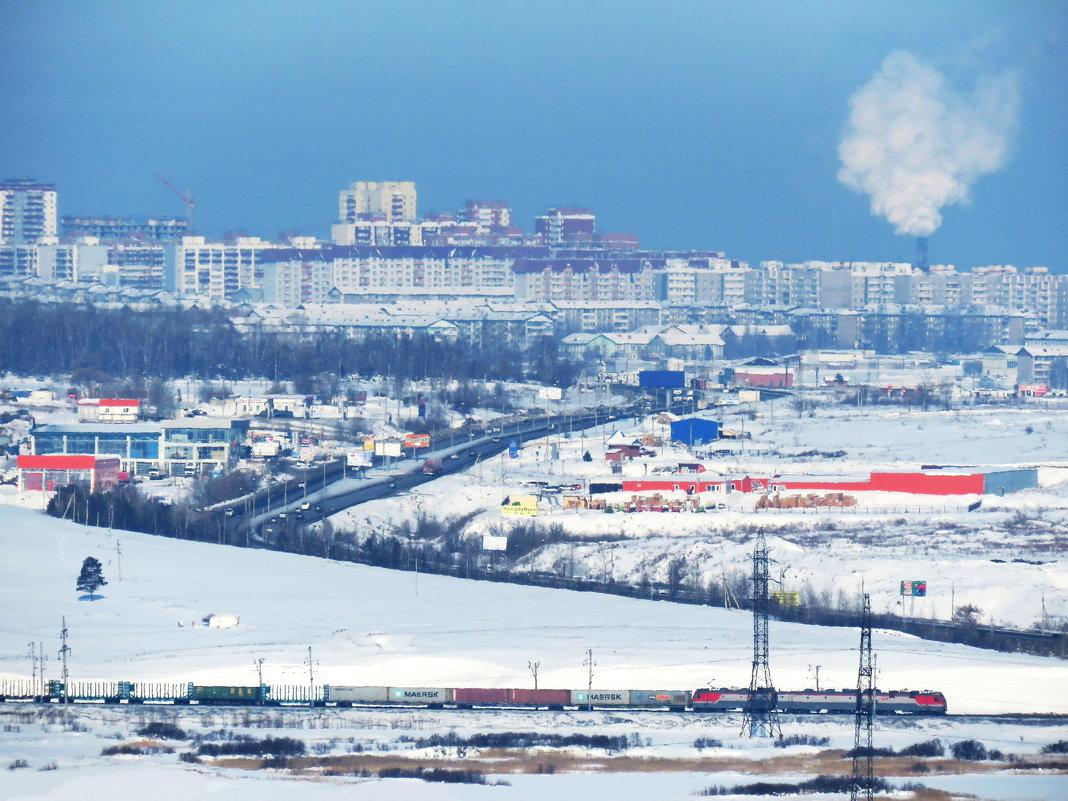 Зима в пригороде - Дмитрий Юдаков