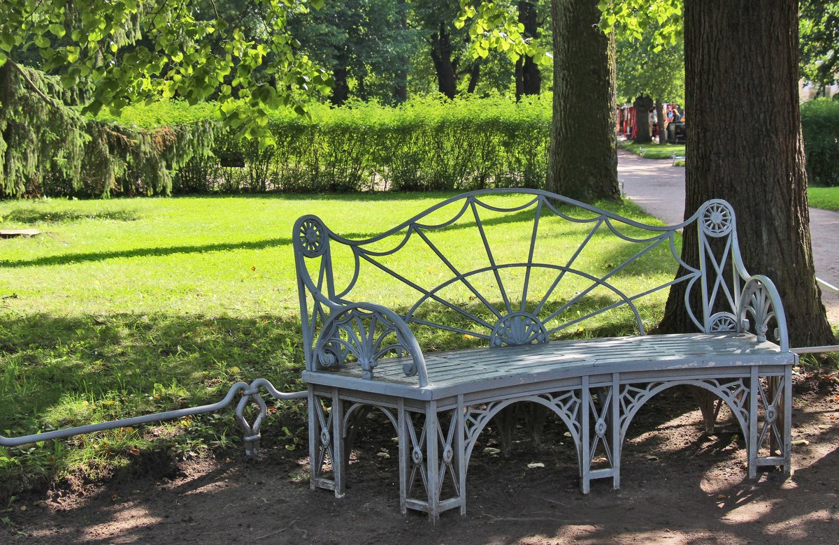 Скамейки Павловского парка - Nina Karyuk
